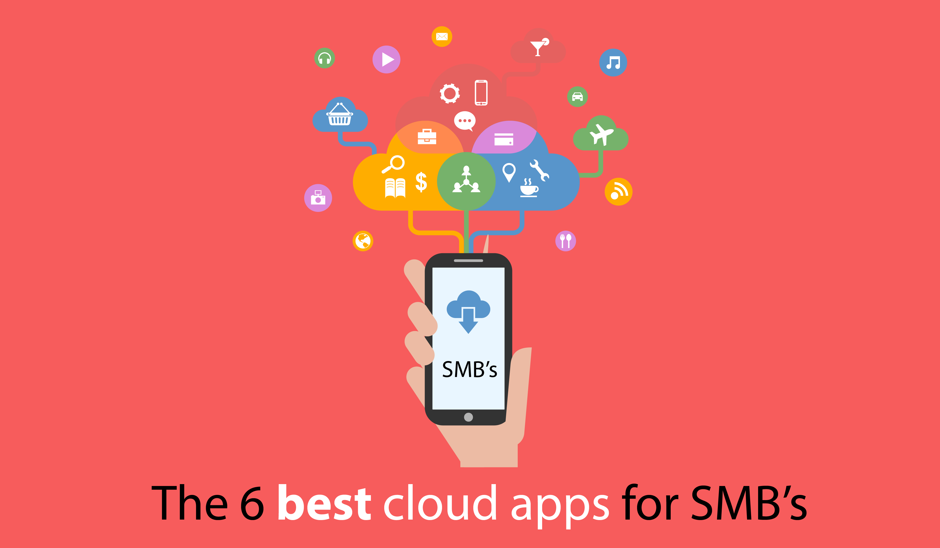 The 6 best cloud apps for SMB's