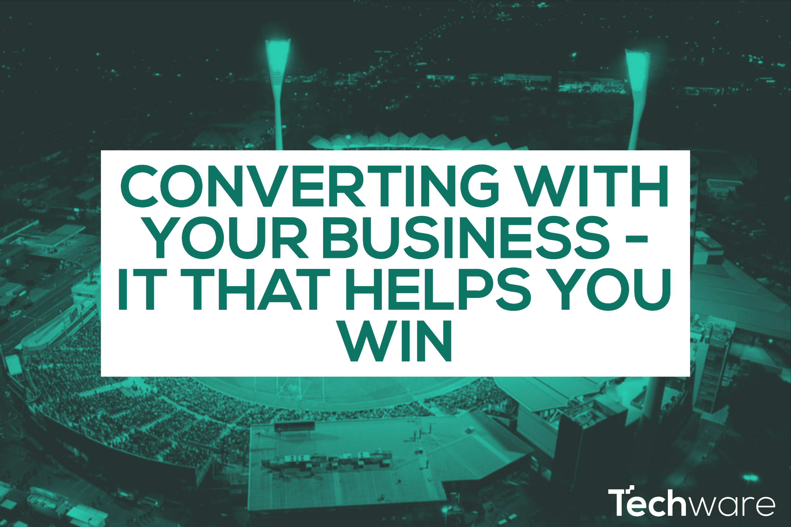 How a Managed IT Service Provider will help you convert