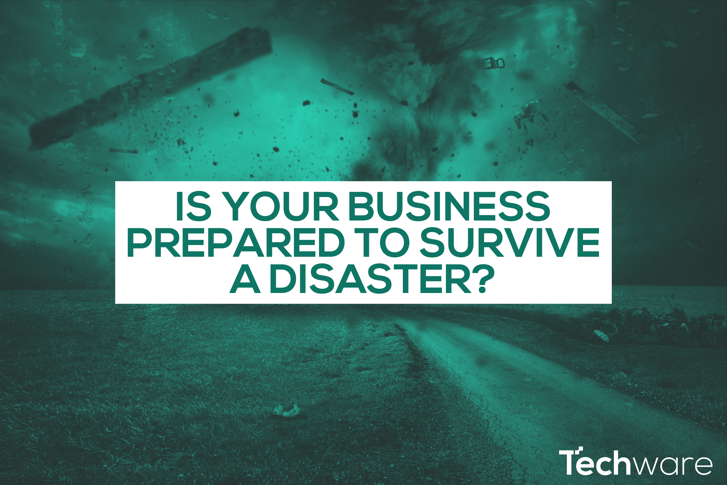 Is your business prepared to survive a disaster? Let's talk business continuity.
