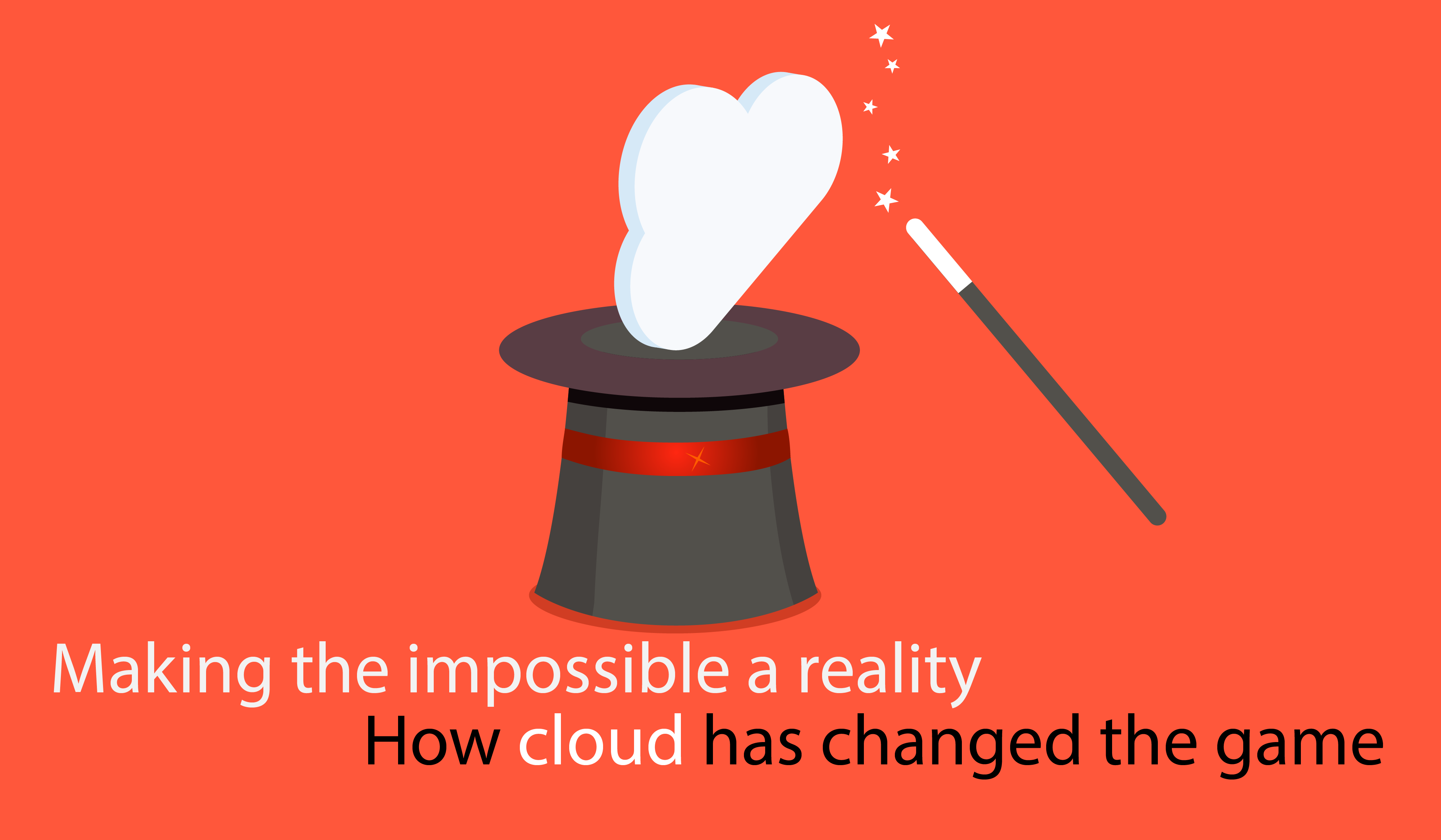 Making the impossible a reality: How cloud has changed the game