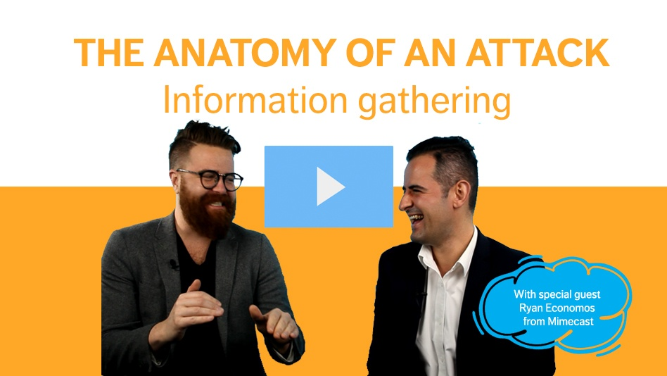 Anatomy of an attack: Information Gathering
