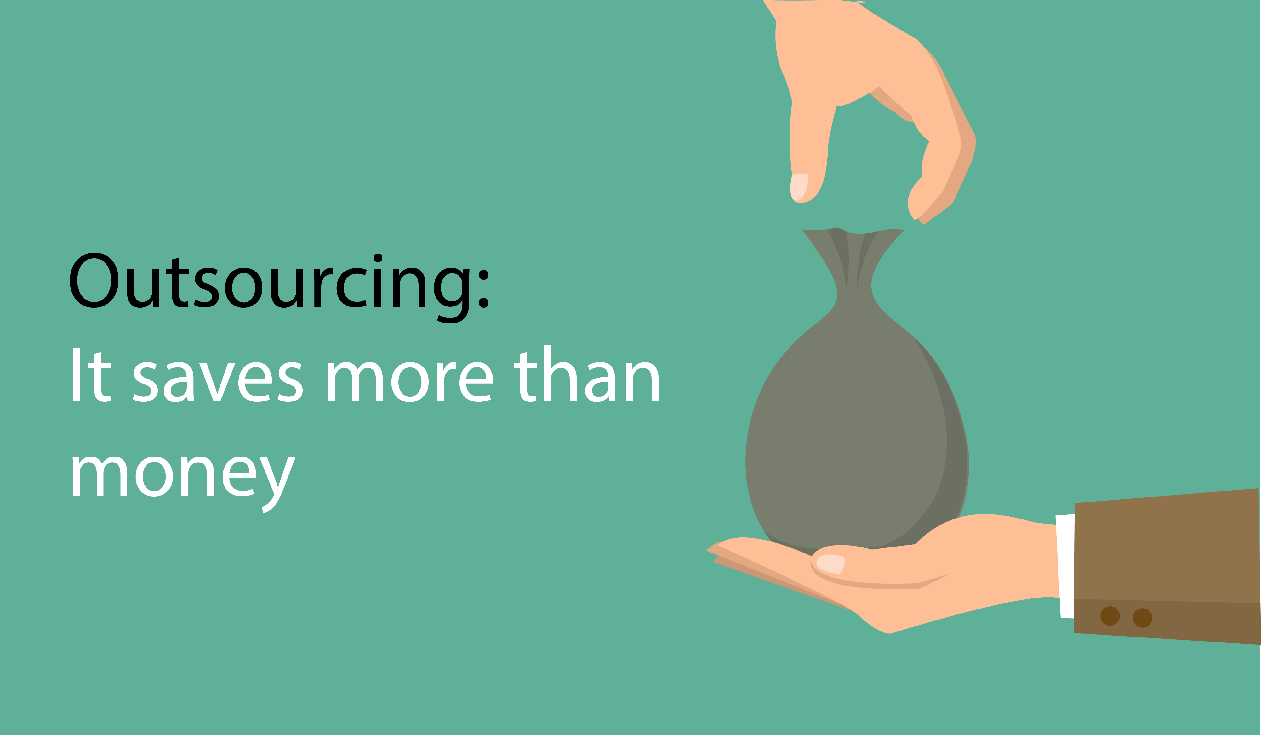 Outsourcing IT Services saves more than money