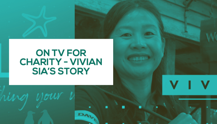 On TV for Charity – Vivian Sia's Story