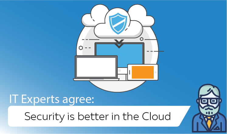 IT Experts Agree: Security is better in the cloud