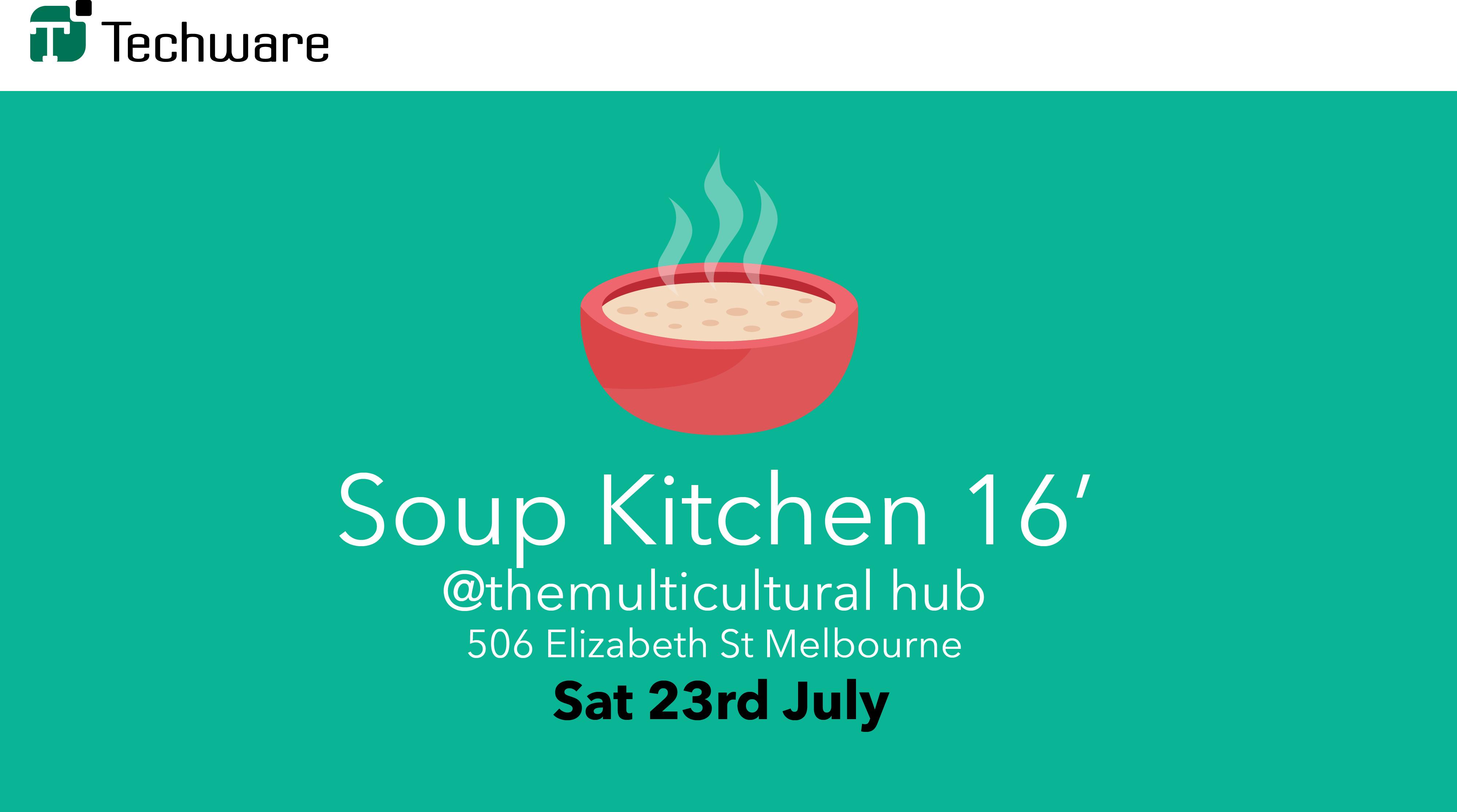 Techware Soup Kitchen 2016